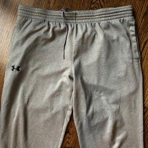 Under Armour Mens Gray Pants, XL EUC